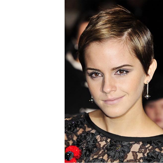 Emma Watson leikkautti hiuksensa Twiggyn inspiroimaan tyyliin
