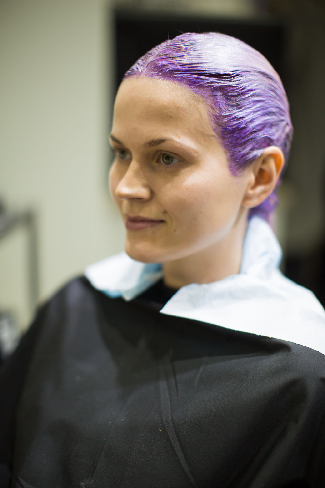 väripäässä violetti