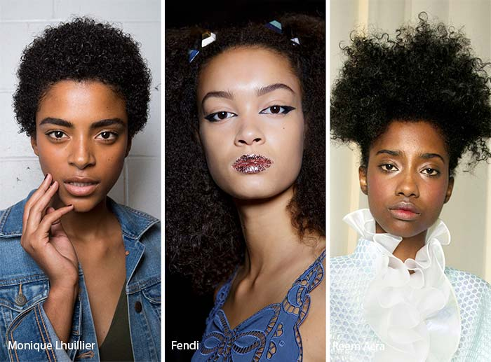 spring_summer_2017_hairstyles_trends_Afro_hair