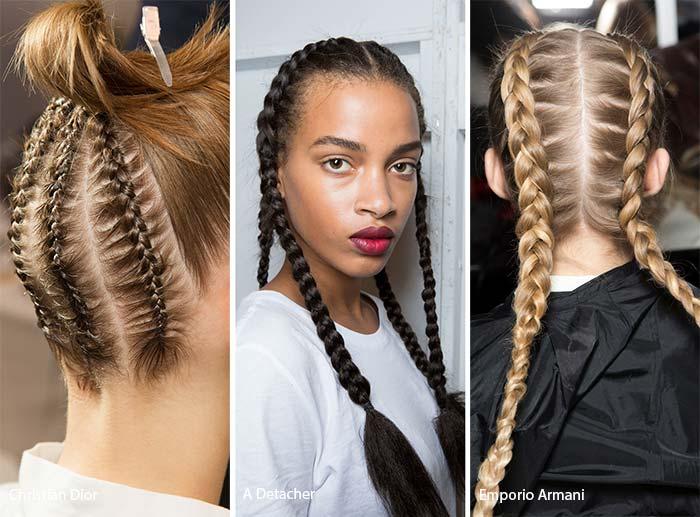 spring_summer_2017_hairstyles_trends_French_Dutch_braids1