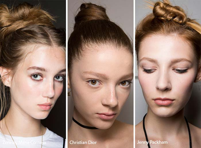 spring_summer_2017_hairstyles_trends_high_buns1