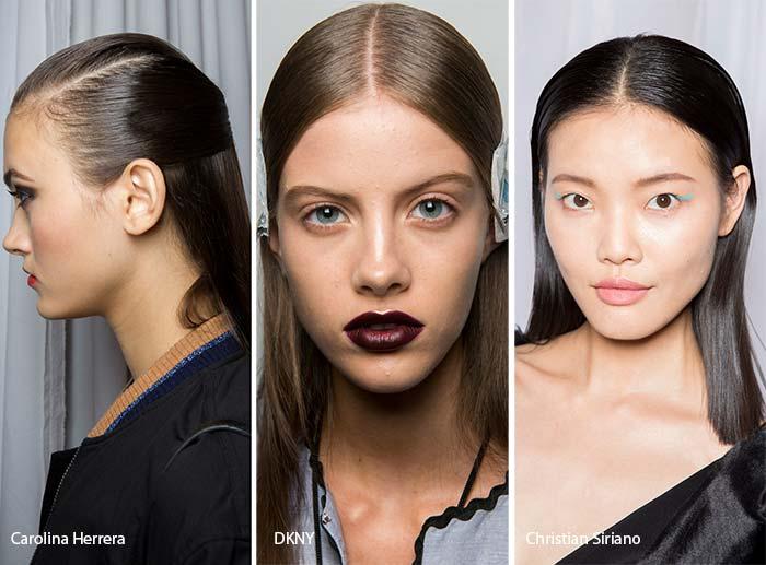 spring_summer_2017_hairstyles_trends_sleek_hair