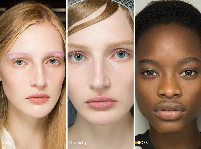 spring_summer_2017_makeup_trends_no_powder_dewy_skin_makeup_fashionisers