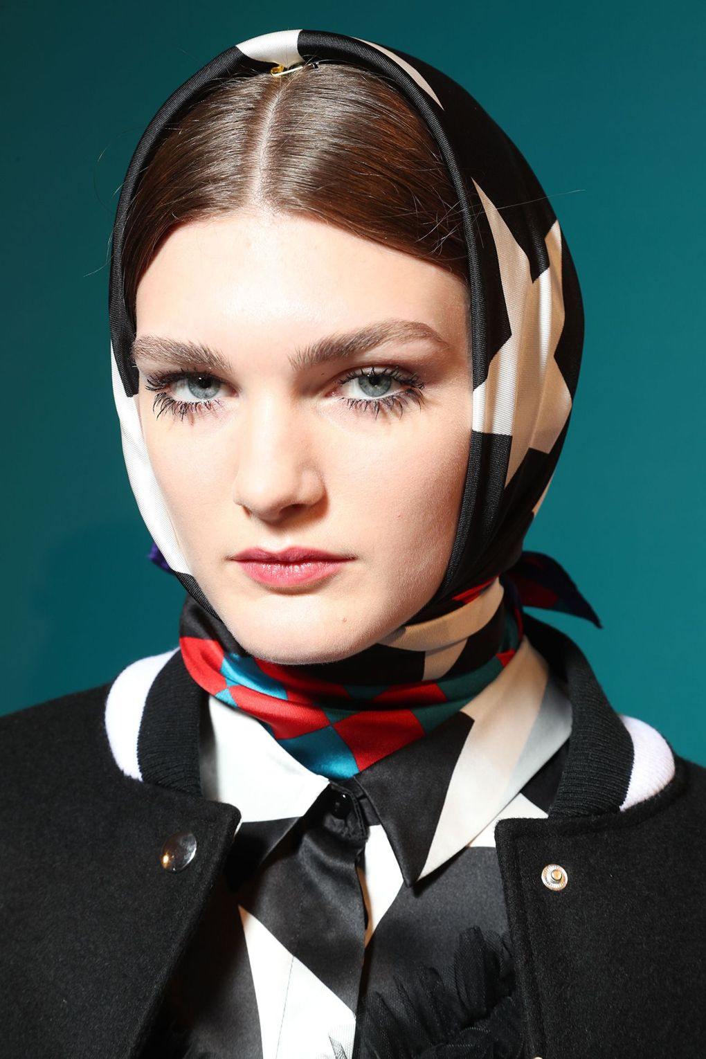 The City: Milan The Show: MSGM The Look: Head scarves