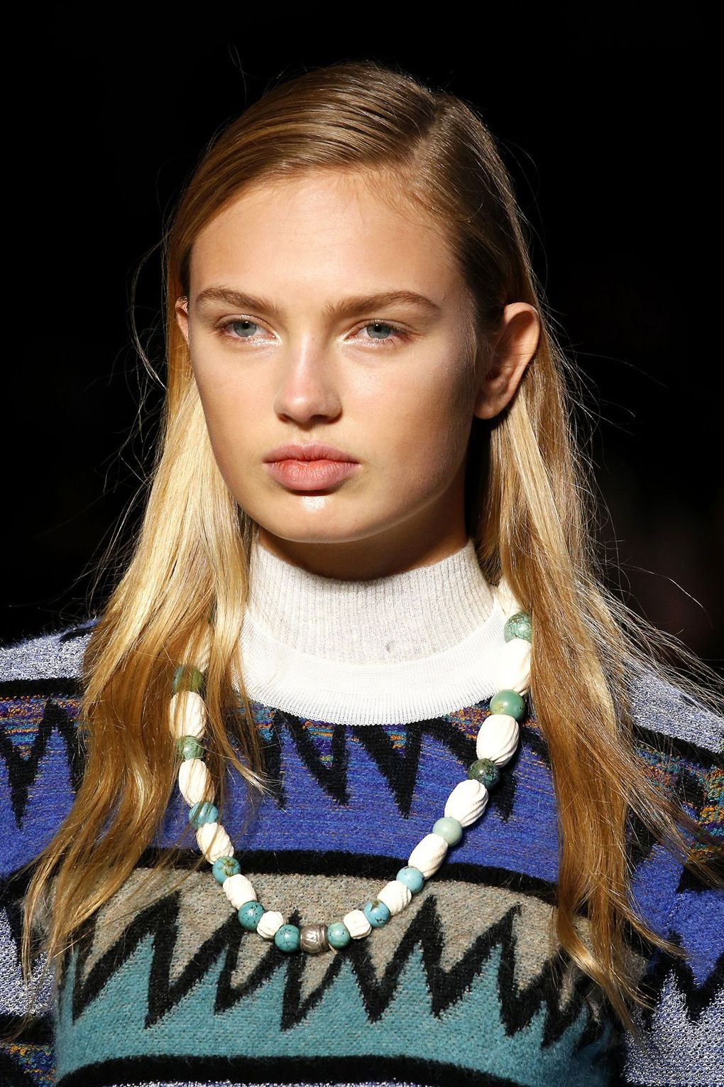 The City: Milan The Show: Missoni The Look: Side partings