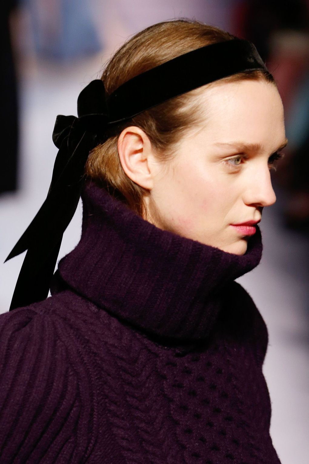 The City: London The Show: Temperley London The Look: Hair ribbon
