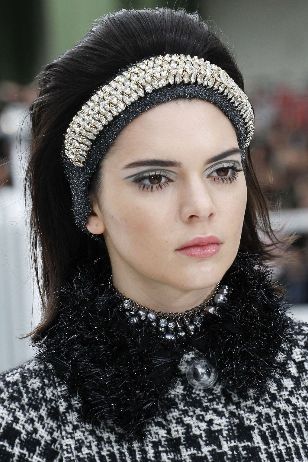 The City: Paris The Show: Chanel The Look: Metallic hair bands