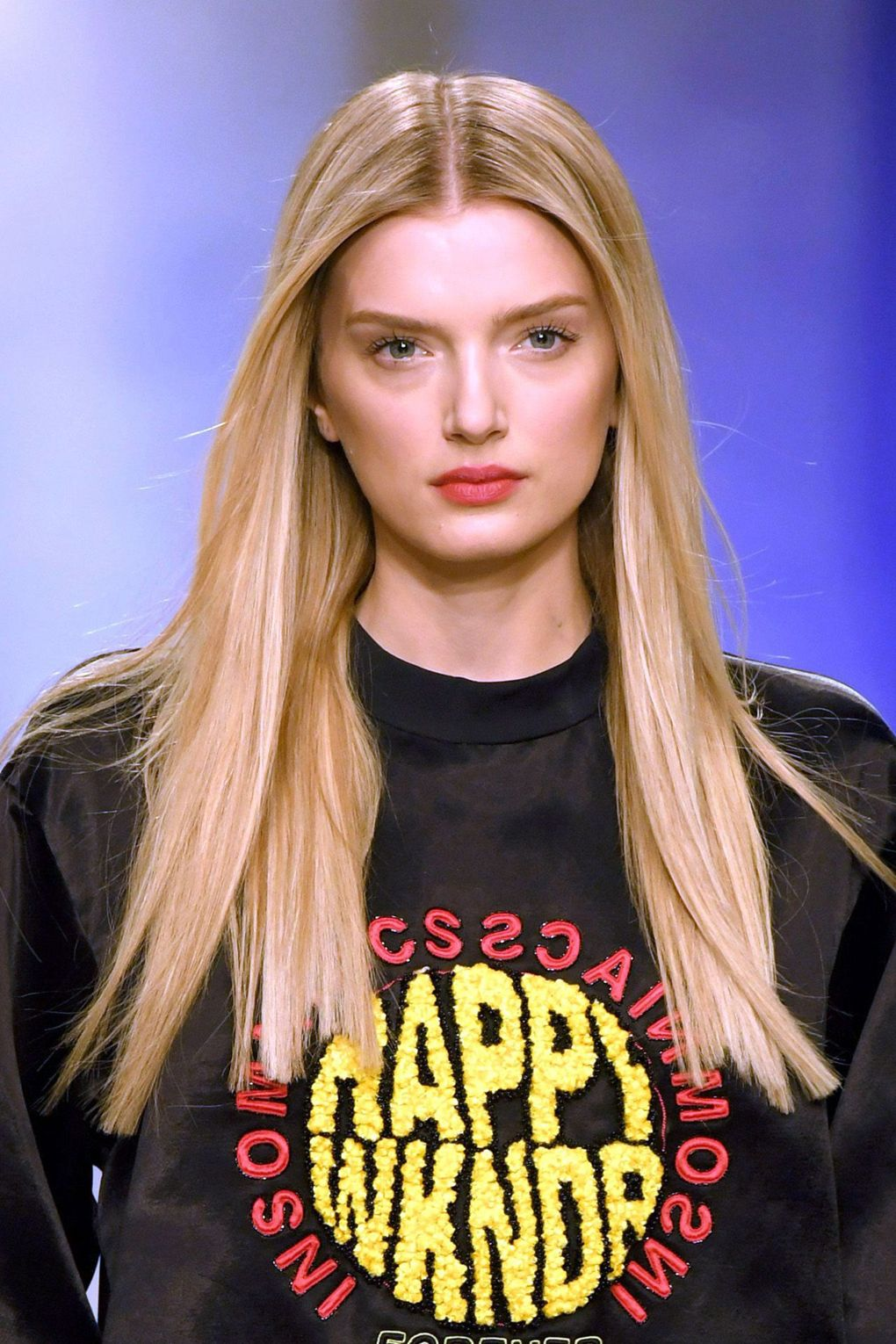 The City: London The Show: Topshop Unique The Look: Straight locks