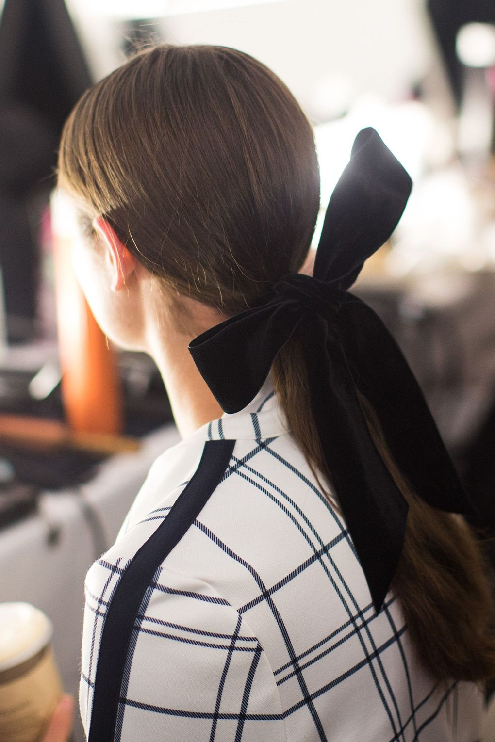 The City: New York The Show: Tory Burch The Look: Pretty bows