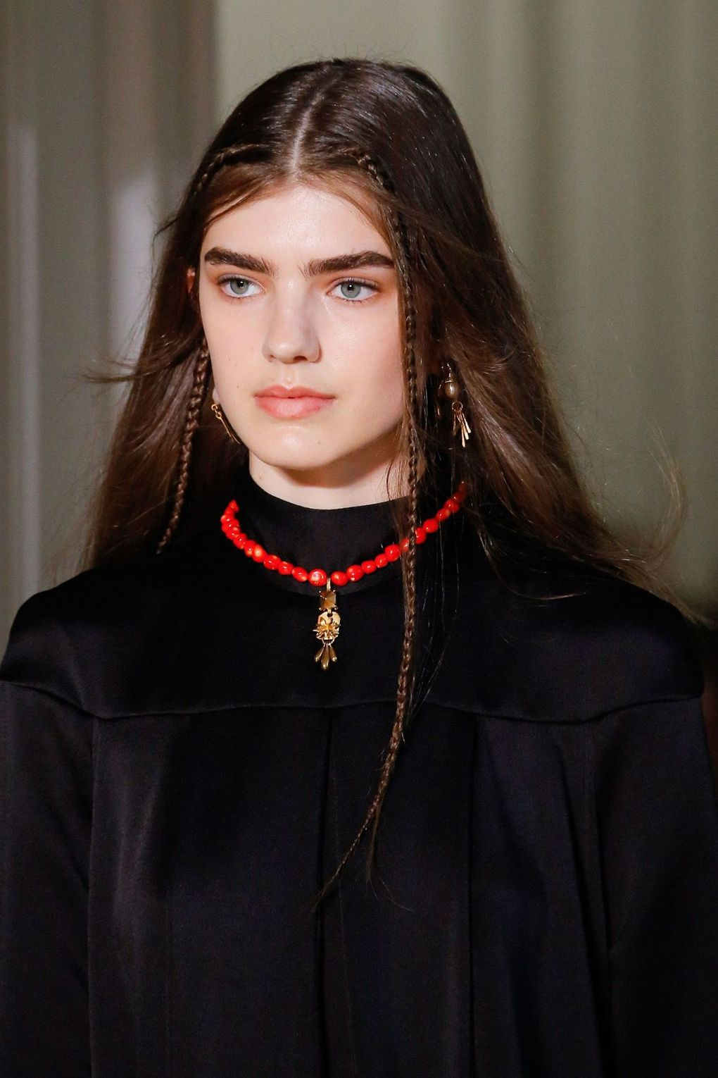 The City: Paris The Show: Valentino The Look: Mini plaits