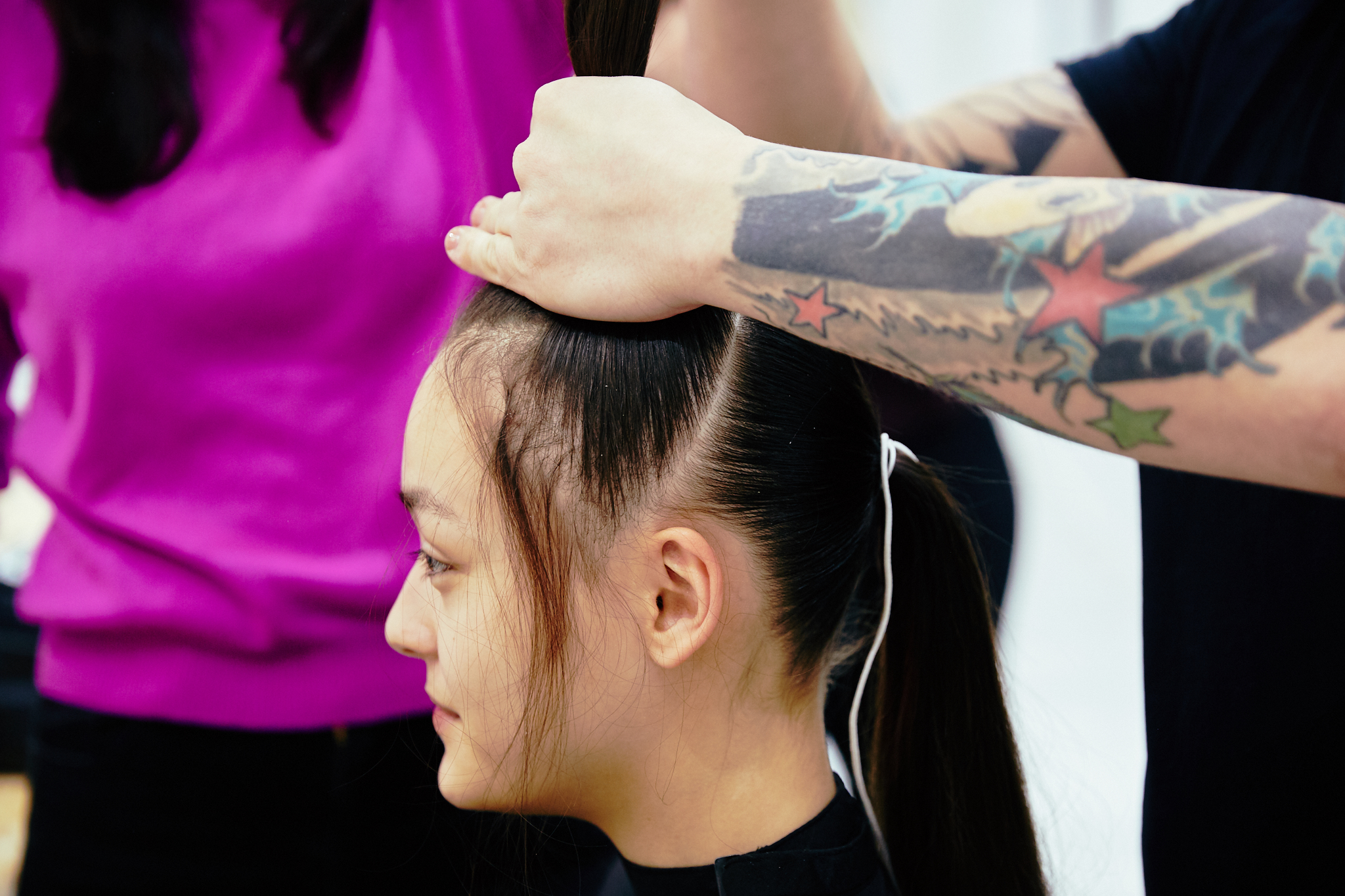 Q_hair_näytös 6